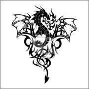 german irish dragon tattoo - Google Search