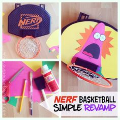 Nerf Basketball Makeover! submitted to InspirationDIY.com