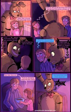 Springtrap and Deliah (Page 81) by GraWolfQuinn