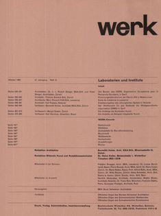 Jobs From Home Discover Dark Side of Typography jonasgrossmann: aus werk band 47 heft 10 1960 @ seals Web Design, Resume Design, Book Design, Layout Design, Branding Design, Cv Inspiration, Graphic Design Inspiration, Typography Inspiration, Editorial Layout