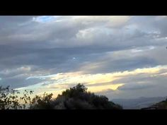 Caught on tape - HUGE storm moving in FAST!!