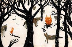 hummingbird-amore:  Wolves - Nicholas Stevenson