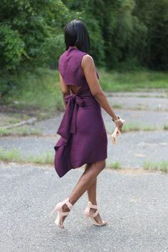Beaute' J'adore: DIY Open back top and ruffle back skirt