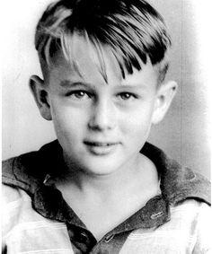 James Dean in childhood
