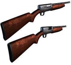 3D Model Shotgun c4d, obj, 3ds, fbx, ma, lwo 92966