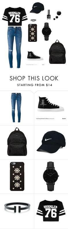 """New York New York"" by seunga-baek on Polyvore featuring Frame Denim, Hogan, Nike Golf, MICHAEL Michael Kors, CLUSE and Boohoo"