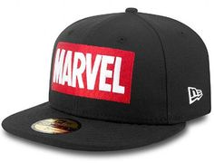 Marvel Logo 59Fifty Fitted Cap by NEW ERA x MARVEL