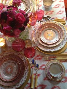 pretty fall tabletop