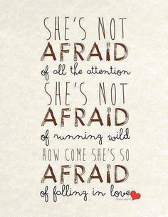 She's Not Afraid by One Direction