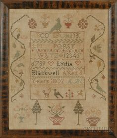 Lydia Blackwell Aged 8 Years 1802