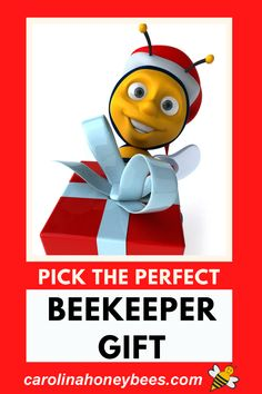 So someone on your list is a beekeeper and you have no idea what to buy.  No worries - this guide will give you some great gift ideas that are sure to please.  #carolinahoneybees #beegifts #beekeepergifts