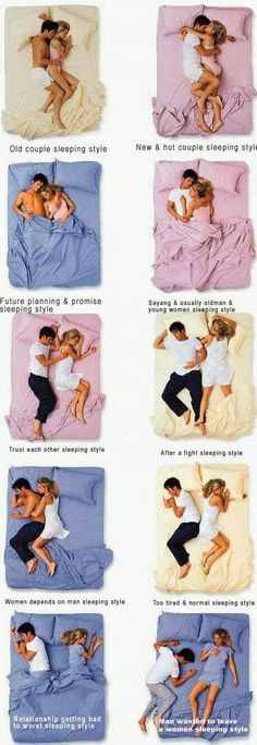 funny sleeping positions