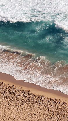 Beach Wave Coast Nature Sea Water Summer #iPhone #5s #wallpaper