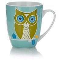 George Home Green Owl Mug   Cups & Mugs   ASDA direct