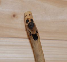 Eco Friendly Pen Cheeky Face by ScribbleStix on Etsy