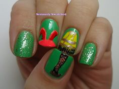 Seriously Swatched: A Christmas Story inspired