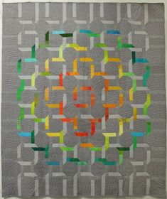 Shining Through the Fog, opportunity quilt, San Francisco Quilters Guild
