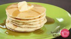 طريقة عمل البانكيك بالزبدة والعسل - Butter and #honey #pancake #recipe