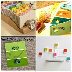 Delightfully Noted: 8 Creative Ways to Reuse Paint Chips