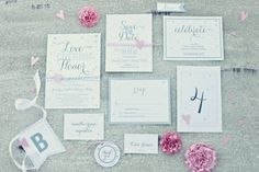 20 Invitations & Save the Dates Available to Print & Download for Free! | Bespoke-Bride: Wedding Blog