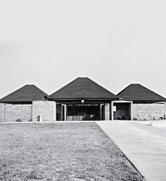 Louis Kahn + Anne Tyng | Trenton bath house, 1955  Marshall D. Meyers Collection