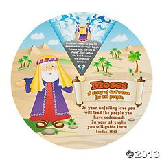 """Moses"" Story Wheels"
