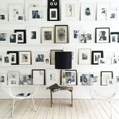 Incredible gallery wall