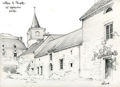 Master of perspective.  Villers-le-Temple by gerard michel, via Flickr