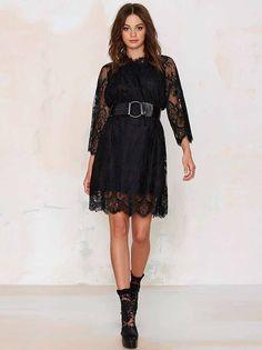 Vestido de Renda Soltinho - Compre Online