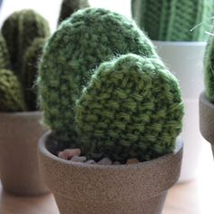 Sewing Barefoot: knit cactus