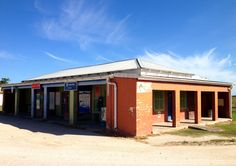 General store in Karatara, South Africa; about 200 people live in this ghost town. Photo by Heather Bisson