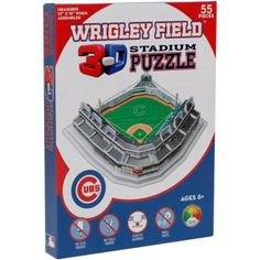 Chicago Cubs 3D Stadium Puzzle by PPW Toys | Sports World Chicago $23.95  #ChicagoCubs @Chicago Cubs