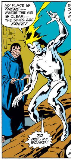 Silver Surfer #12, John Buscema, Silver Surfer, Marvel Comics