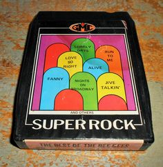 """Bee Gees 8 Track Tape """"The Best of The Bee Gees"""" Super Rock 8 Track Tape Cartridge Stereo Tape Cartridge 8 Track Eight Track"""