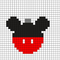 Mickey Ornament by on Kandi Patterns Perler Bead Designs, Perler Bead Templates, Hama Beads Design, Diy Perler Beads, Pearler Bead Patterns, Perler Bead Art, Perler Patterns, Kandi Patterns, Mickey Mouse Christmas Ornament