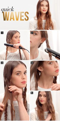 Gorgeous #Waves #Hairstyle, Step by Step #Guide - Hairstyles Mania ! http://www.hairstylesmania.com/womens-hairstyles/gorgeous-waves-hairstyle-step-by-step-guide/