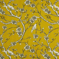 Dwell Studio Fabric Vintage Blossom Citrine - this is simply lovely!