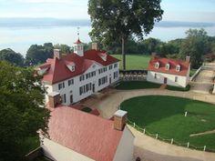 George Washington's Mount Vernon estate, Alexandria, Virginia, USA