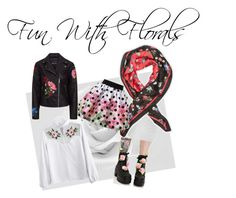 """""""Fun with florals"""" by xxmrs-wolfxx on Polyvore featuring Dorothy Perkins, Love Made Love and Sugarbaby"""