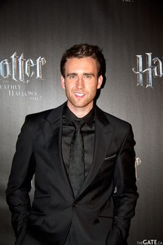 Matthew Lewis  Neville Longbottom.  This still amazes me that he turned out the be the most attractive one by a landslide.
