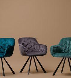Eetstoel Viva – Mauve € 149, ⋆ Kare Design ⋆ Löwik Meubelen