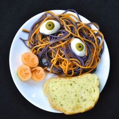 Surprise your family & friends with a Spooky Spaghetti with Eyeballs!  They'll love it, and it's so easy to make!