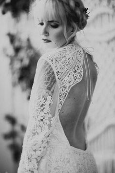 Romantic Southwestern Inspired Wedding Inspiration at The Charcoal Loft | Junebug Weddings