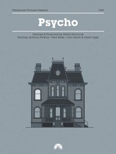 - Link to the source: https://www.behance.net/gallery/38741311/Horror-Film-Houses - Author's Name: Doctor Zamenhof - Not…