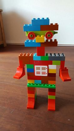 Duplo Robot – replicas of Lego duplo figurines – … - Kinderspiele Lego Minecraft, Minecraft Ender Dragon, Hama Beads Minecraft, Minecraft Pattern, Lego Mecha, Lego Mindstorms Ev3, Lego Technic, Lego Design, Manual Lego