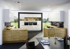 Sintesa Eiche Umbria I ewe Kitchen Furniture, Kitchen Interior, Kitchen Dining, Dining Room, German Kitchen, Decoration, Design Inspiration, House, Home Decor