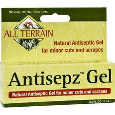 All Terrain Antisepz Gel - .5 Oz