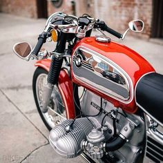 Vintage BMW motorcycle cafe racer - Repined by http://gasnride.com