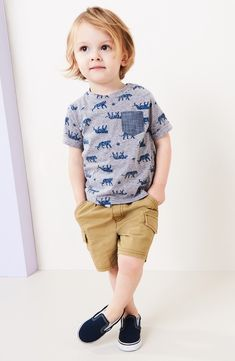 Ideas for moda infantil varones verano Toddler Boy Fashion, Little Boy Fashion, Toddler Boy Outfits, Baby Kids Clothes, Fashion Kids, Toddler Boys, Teen Boys, Children Outfits, Fashion Clothes