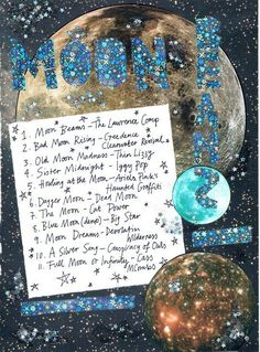 moonbeams playlist by rookie mag Sound Of Music, Music Is Life, New Music, Music Mood, Mood Songs, Rookie Magazine, Song Playlist, Playlist Ideas, Music Recommendations